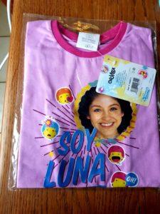 T-shirt mauve SL