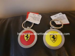 Porte-clef Ferrari