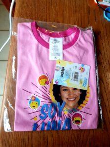 T-shirt rose SL
