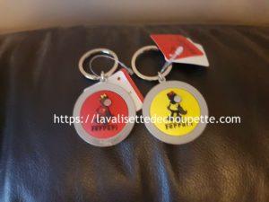 Porte-clef Ferrari face